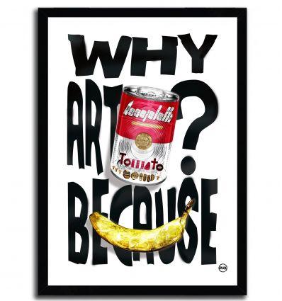 Affiche ARTPRINT POP ART par Rubiant