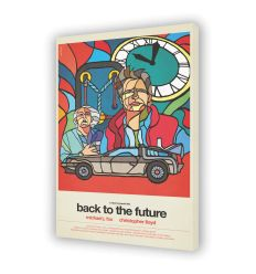 Tableau BACK TO THE FUTURE Par VAN ORTON