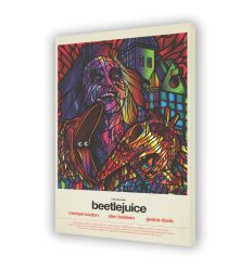Canvas BEETLEJUICE by VAN ORTON