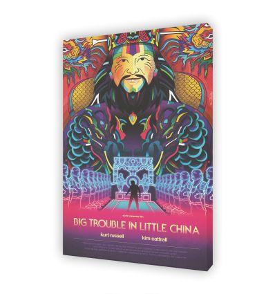 Tableau BIG TROUBLE IN LITTLE CHINA Par VAN ORTON
