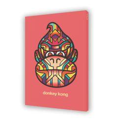 Canvas DONKEY KONG by VAN ORTON
