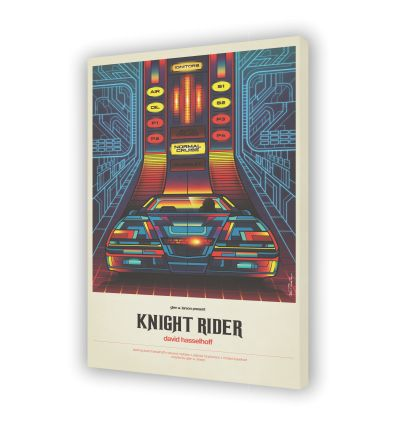 Canvas KNIGHT RIDER by VAN ORTON