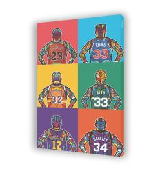Canvas NBA LEGENDE by VAN ORTON