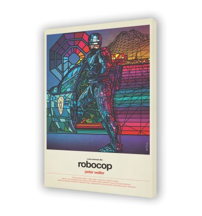Canvas ROBOCOP by VAN ORTON