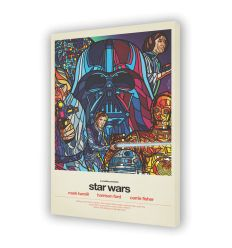 Canvas STAR WARS by VAN ORTON