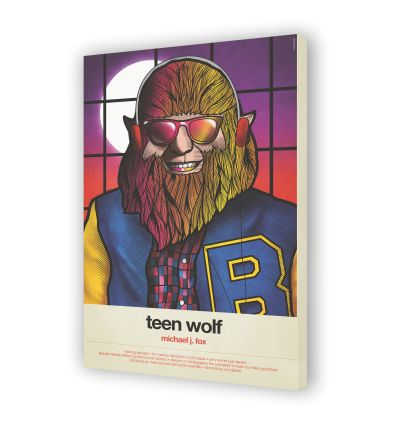 Canvas TEEN WOLF by VAN ORTON