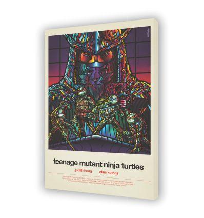 Canvas TEENAGE MUTAN NINJA TURTLE by VAN ORTON