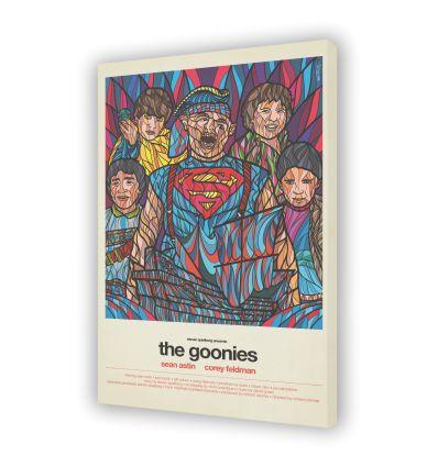 Canvas THE GOONIES by VAN ORTON