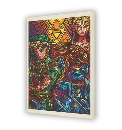 Canvas ZELDA by VAN ORTON