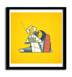 Affiche Back to the Frankenstein par ALE GIORGINI