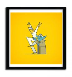 Affiche The Return of the Karate Kid par ALE GIORGINI