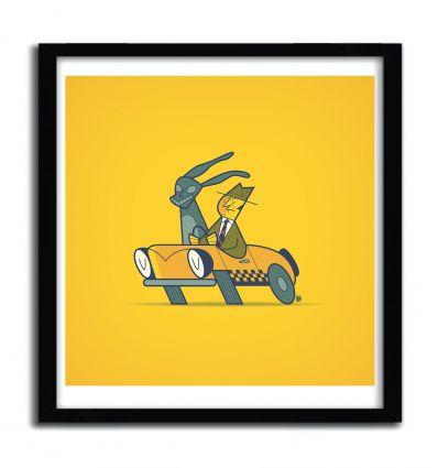 Affiche Who Framed Donnie Darko? par ALE GIORGINI