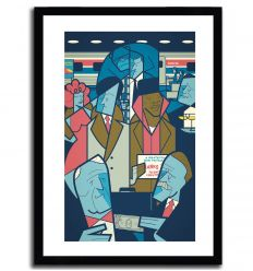 Affiche Frozen Orange Juice par Ale Giorgini
