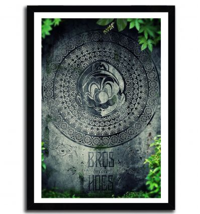 Affiche blue potion par Barrett Biggers