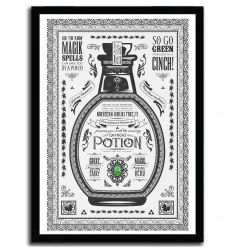 Affiche green potion par Barrett Biggers