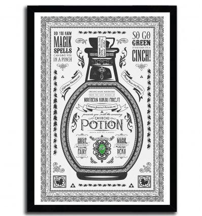 Affiche green potion par Barrett Biggers