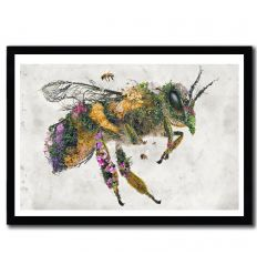 Affiche honey bee par Barrett Biggers
