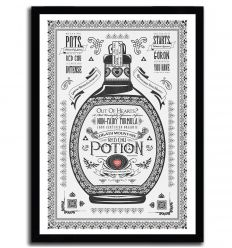 Affiche red potion par Barrett Biggers