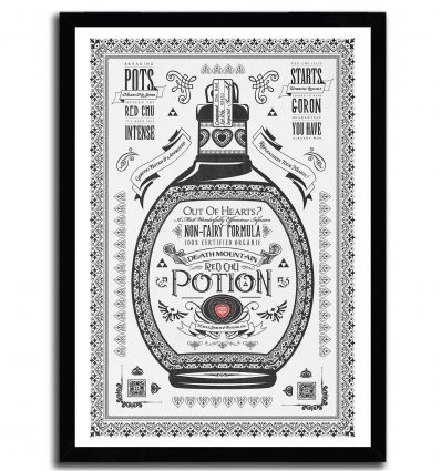 Affiche red potion par Barrett Biggers
