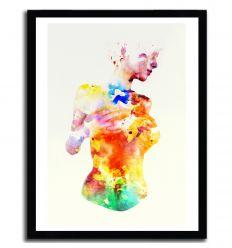 Affiche Crayon par ANDREAS LIE
