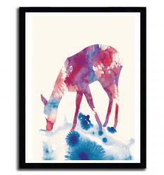 Affiche fawn par ANDREAS LIE
