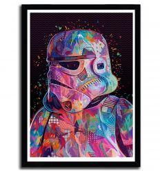 Affiche trooper pop par Alessandro Pautasso