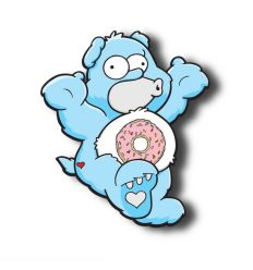 donut bear blue Edition by Mr LIKEY