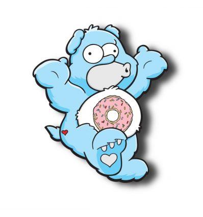 donut bear blue Edition by Mr LIKEY