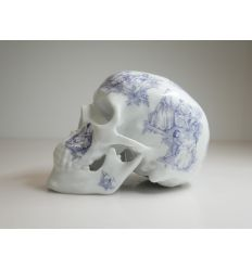 SKULL TJ BLUE BY NooN