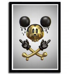 Affiche mickey par Theodoru