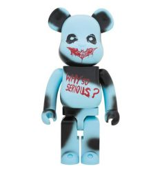 Sculpture bearbrick 1000% The Joker (Why So Serious?)