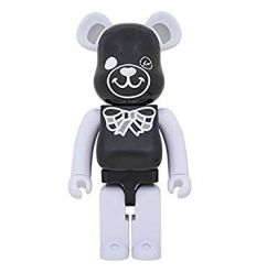 Sculpture bearbrick 1000% Black - Freemasonry x Fragment Design