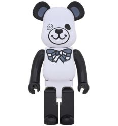 Sculpture bearbrick 1000% White - Freemasonry x Fragment D