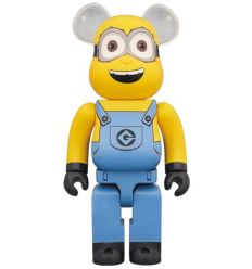 Sculpture bearbrick 1000% Minion Dave (Despicable Me 3)