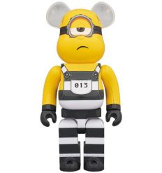 Sculpture bearbrick 1000% Minion Mel (Despicable Me 3)