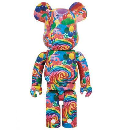 Sculpture bearbrick 1000% Minion Mel (Despicable Me 3)
