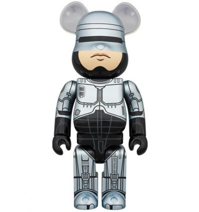 Sculpture bearbrick 1000% Robocop
