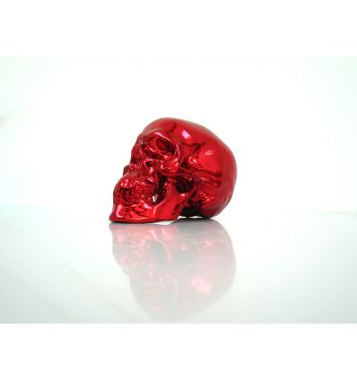Skull Red Chrome by NooN