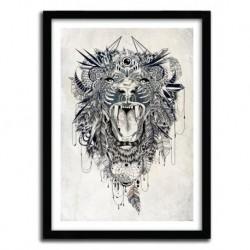 Affiche LION by Feline Zegers