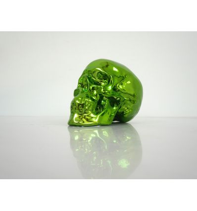 Skull Green Chrome Porcelain by NooN