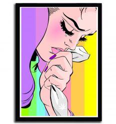 Affiche Handkerchief rainbow par DasistLeyli