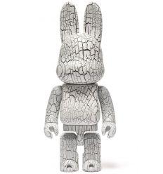 Sculpture bearbrick 400% Karimoku Nyarbrick - Uzukari
