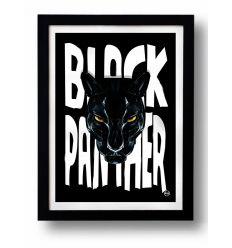Affiche BLACK PANTHER par Rubiant