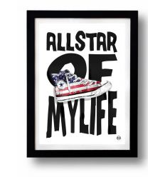 Affiche ALL STAR OF MY LIFE par Rubiant