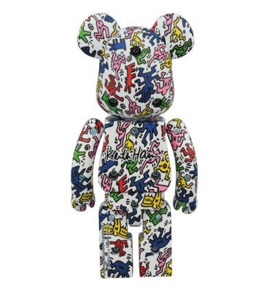 Sculpture 200% Bearbrick - Jean-Michel Basquiat (V1)