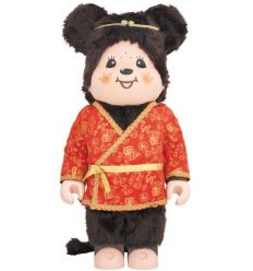Sculpture bearbrick 1000% Son Goku Monchhichi