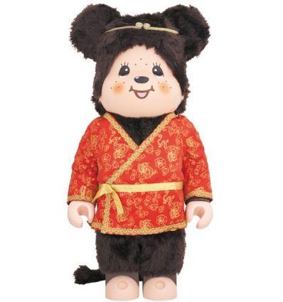 Sculpture bearbrick 1000% Son Goku Monchhichi