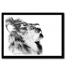 Affiche Lion par DinoTomic