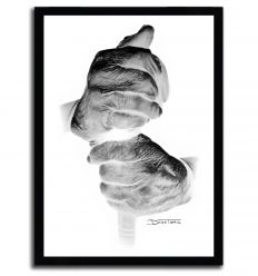 Affiche hands par DinoTomic