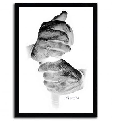 Affiche hands par DinoTomic